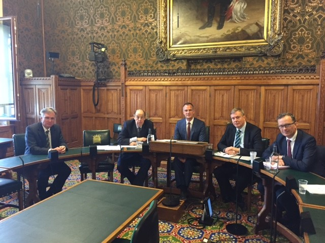 Sir Nicholas and Dr Peter Kyle Co-Chair a meeting of the APPG on Southern Railway