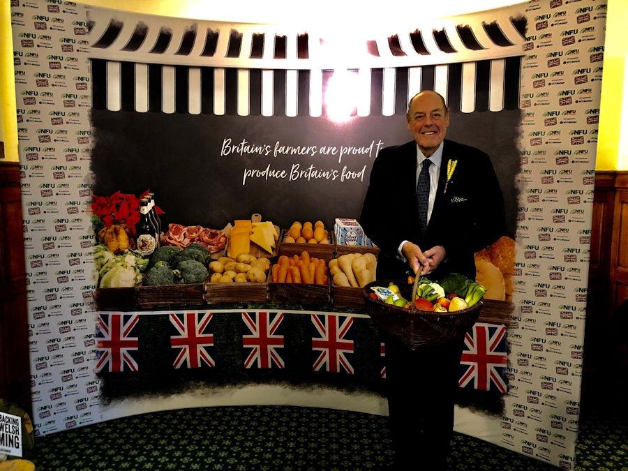 Sir Nicholas Soames backing British farming