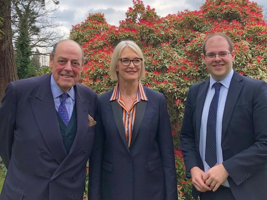 Sir Nicholas Soames MP, Margot James MP and Cllr Jonathan Ash-Edwards
