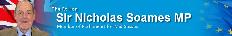Sir Nicholas Soames - Member of Parliament for Mid Sussex