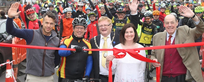 Greater Haywards Heath Bike Ride (Photo: Mid Sussex Times)