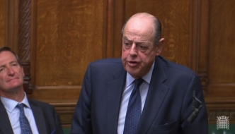 Sir Nicholas Soames MP speaking in the House of Commons, September 2019, Zimbabwe