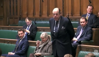 Sir Nicholas Soames speaking in the House of Commons, February 2019