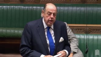 Sir Nicholas Soames speaking in the House of Commons, June 2018
