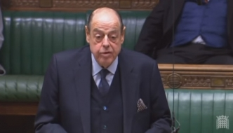 Sir Nicholas Soames speaking in the House of Commons, January 2019, Withdrawal Agreement