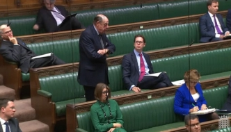 Sir Nicholas Soames speaking in the House of Commons, October 2018