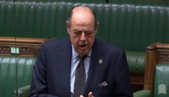 Sir Nicholas's Question to the Secretary of State for Work and Pensions on terminal illness and benefits.