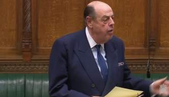 Sir Nicholas Soames speaking in the House of Commons, March 2019