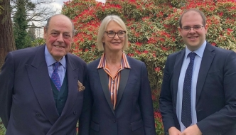Sir Nicholas Soames MP, Margot James MP and Cllr Jonathan Ash-Edwards