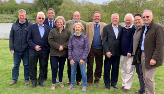 Sir Nicholas Soames MP, Nick Herbert MP and campaigners oppose the Mayfields new town