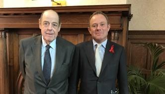 Sir Nicholas Soames MP and Nick Herbert MP