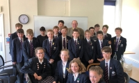 Sir Nicholas visits Great Walstead School in Lindfield on Friday, 10th May, 2019.