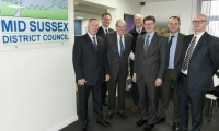 Sir Nicholas welcomes Greg Clark MP, Secretary of State for Business, Energy and Industrial Strategy to Mid Sussex