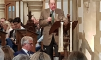 Sir Nicholas Soames MP addresses the LAMBS public meeting