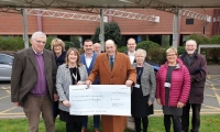 Support the PRH Campaign makes donations to local Hospice and Air Ambulance Service