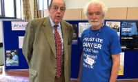 Sir Nicholas attends the PSA Testing Day at Cyprus Hall in Burgess Hill