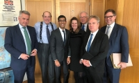 West Sussex MPs meet Local Government Minister to discuss West Sussex County Council's serious budgetary pressures.