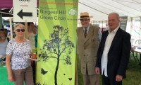 Wild about Mid Sussex Event with Cllr Pru Moore and Chairman of the show Dominic Moore